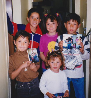 Kids from El Testerazo Mexico